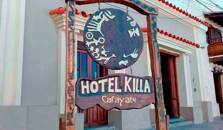 Hotel Killa of Cafayate in Salta, Argentina